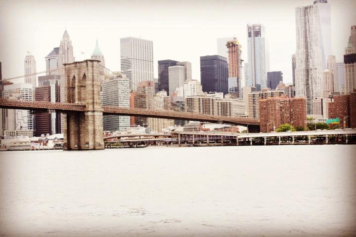 Walking The BrooklynBridge